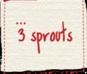 3 Sprouts termékek