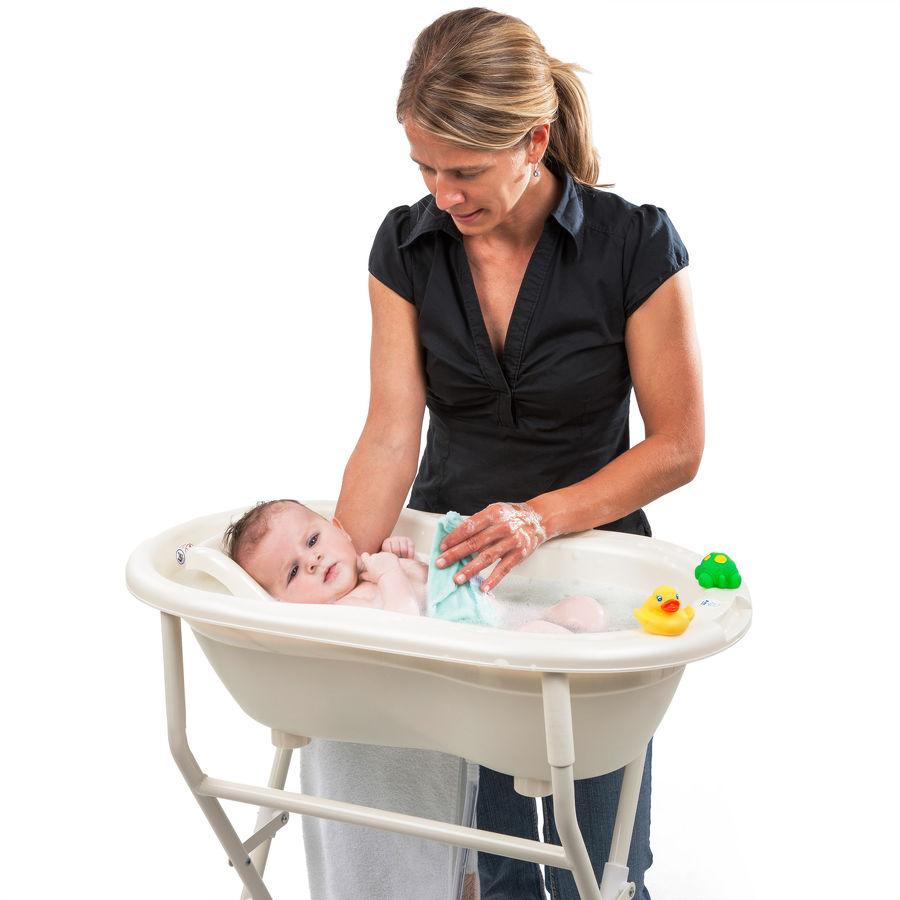 biztonságos babafürdetés