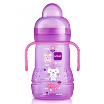mam-trainer-220ml-lilac-cartoon-collection