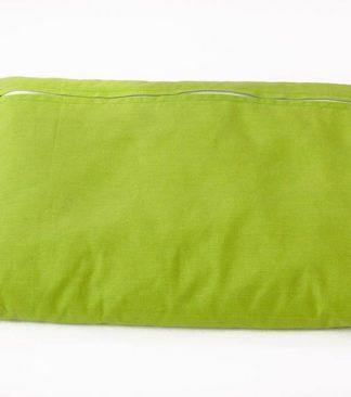 Kispárna, tönkölypelyva töltettel, zöld, 600 g