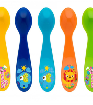 Rotho Babydesign Etetőkanál, rövid, 5 darabos