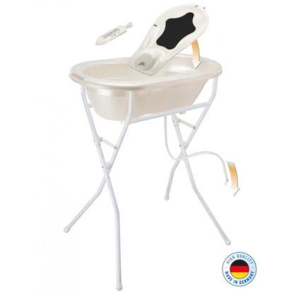 Rotho Babydesign TOP babakád állvánnyal, krém gyöngyház