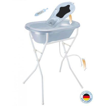 Rotho Babydesign TOP babafürdető szett, világoskék gyöngyház
