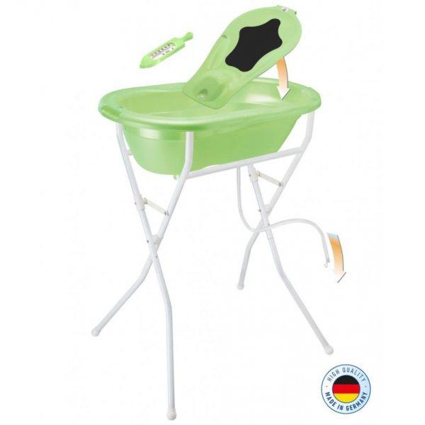 Rotho Babydesign TOP babafürdető szett, zöld gyöngyház