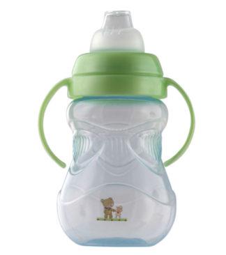Rotho Babydesign Duplafülű tanuló itató, világoskék, 300 ml