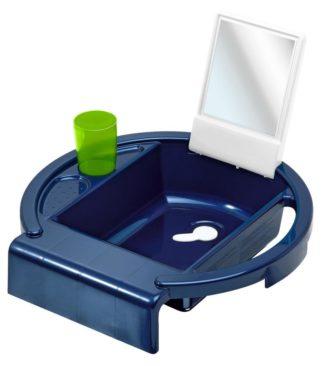 Gyermekmosdó, kék-fehér-lime, Kiddy's Wash