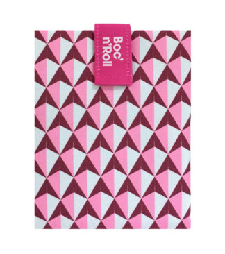 díszcsempe szendvicscsomagoló, pink