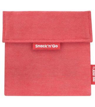 Snack'n'Go Eco Piros ételtároló tasak