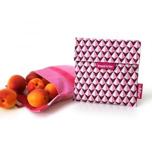 Snack'n'Go DíszCsempe Pink ételtároló tasak