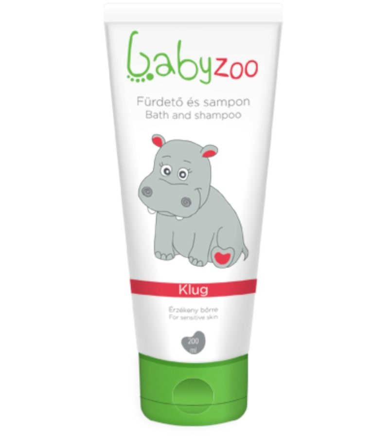 BabyZoo Babafürdető és sampon, 200 ml