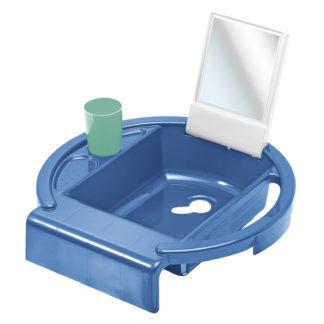 Rotho Babydesign Gyermekmosdó, kék-fehér-svéd zöld, Kiddy's Wash