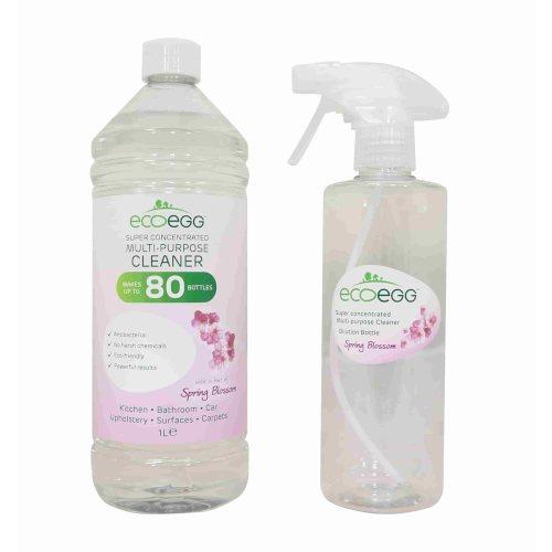 ECOEGG antibakteriális tisztító koncentrátum, tavaszi illat, 1 liter