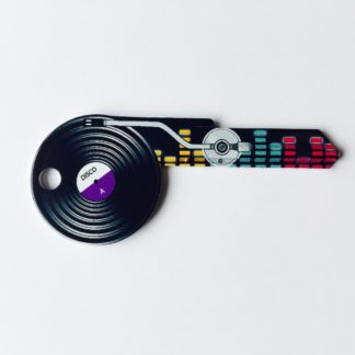 Lemezjátszó alakú kulcs, nyerskulcs