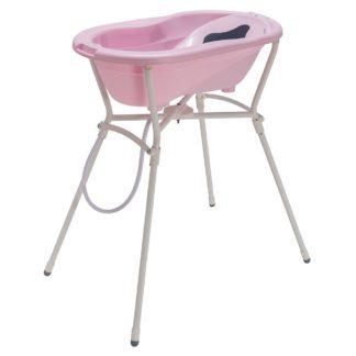 Rotho Babydesign TOP babafürdető szett, rózsaszín gyöngyház