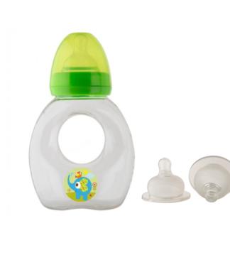 Rotho Babydesign Széles vállú itató cumisüveg, 250 ml + 2 db pótfej