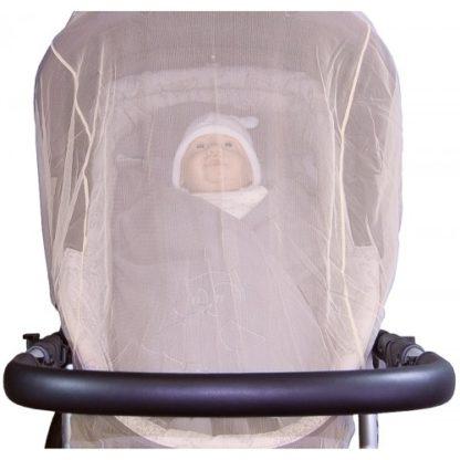 Univerzális rovarháló csecsemőhordozóra, szürke