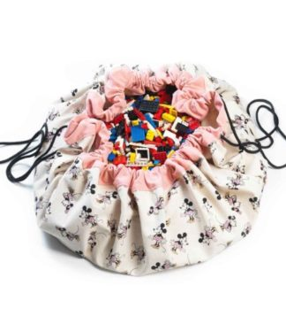 Play&Go Játéktároló zsák és játszószőnyeg - Arany Minnie