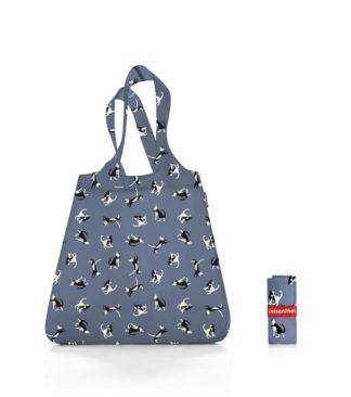 Reisenthel bevásárló szatyor, indigó macska (mini maxi shopper)
