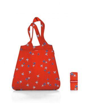 Reisenthel bevásárló szatyor, piros kolibri (mini maxi shopper)