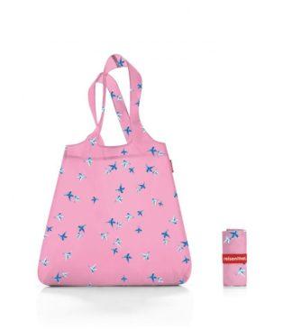 Reisenthel bevásárló szatyor, rózsa kolibri (mini maxi shopper)