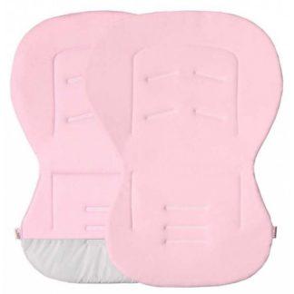 Univerzális betét babakocsiba, autósülésbe - rózsaszín