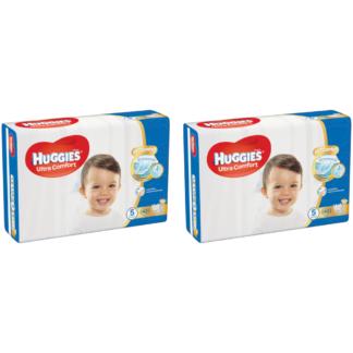 HUGGIES® Ultra Comfort JUMBO (5) nadrágpelenka, 12-22 kg, 2 x 42 darab
