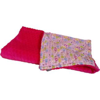 NOLA Kétoldalas takaró és hempergő egyben, rózsaszín elefánt
