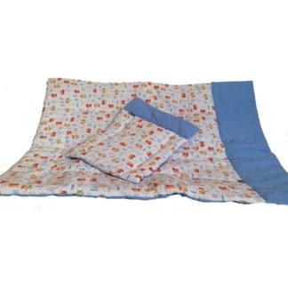 NOLA Kétrészes babaágynemű garnitúra, kék tűzoltó