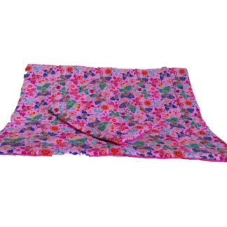 NOLA Kétrészes babaágynemű garnitúra, rózsaszín pillangós