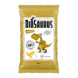 """Kukoricás Snack, Sajtos """"BIOSAURUS IGOR"""", BIO 50g"""