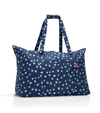 Reisenthel Mini Maxi Travelbag, navy pöttyös