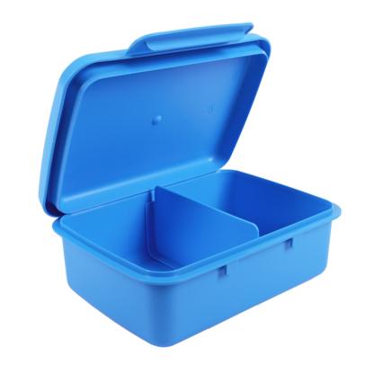 Hygi doboz, belső elválasztóval, kék