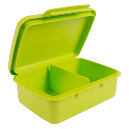 Hygi doboz, belső elválasztóval, zöld