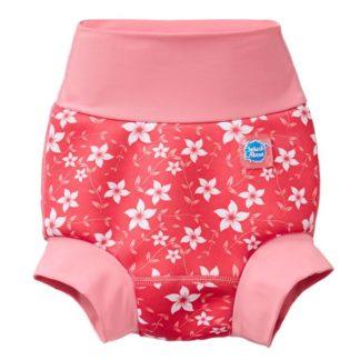 Happy Nappy mosható úszópelenka pink virág