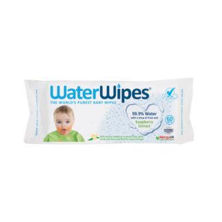 WaterWipes törlőkendő, szappanbogyó kivonattal, 60 db