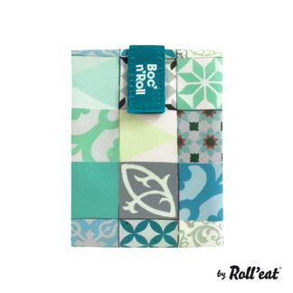 Boc'n'Roll Patchwork Zöld szendvics csomagoló