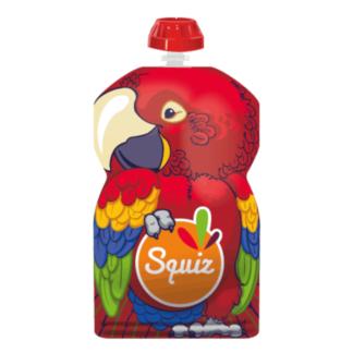 SQUIZ ételtasak, 1 darabos, Papagáj, 130 ml
