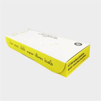 Hamac székletfogó lap (110 db/doboz), fehér