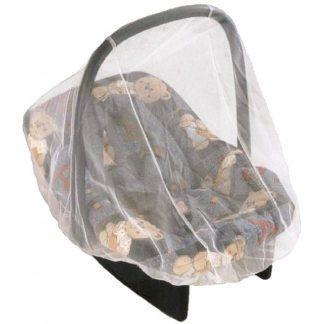 Univerzális rovarháló csecsemőhordozóra, fehér