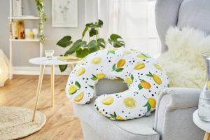 Rotho Babydesign Mini szoptatós párna, 180 x 33 cm, citrus