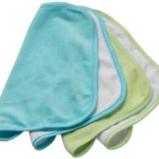 Rotho Babydesign Mosdókendő, kék, 4 darabos
