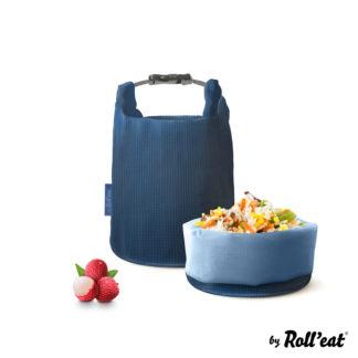 Grab'n'Go ételhordó, Square szilvakék, 2,5 liter