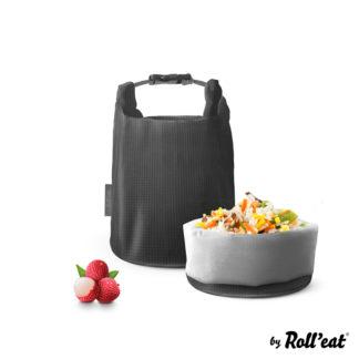 Grab'n'Go ételhordó, Square szürke, 2,5 liter