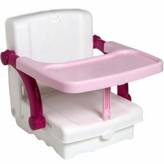 KidsKit ülésmagasító, HI Seat, fehér-pink-rózsaszín