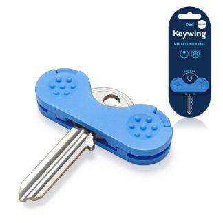 PETA UK Kulcshoz ujjtámasz kék